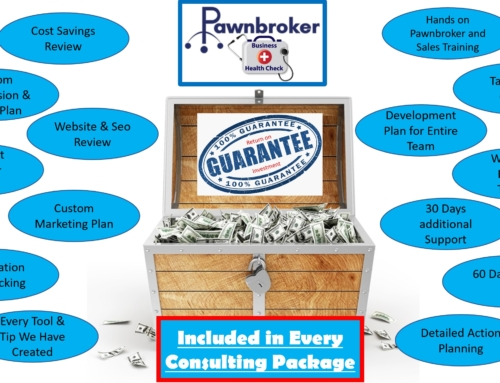 Services-Hands-on Pawnbroker & Sales Training